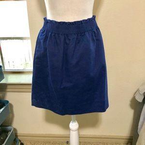 Royal Blue Sidewalk Skirt